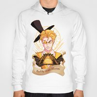 bill cipher Hoodies featuring Mr. Cipher by Palolabg