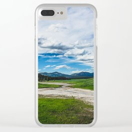Hayden Valley, Yellowstone National Park Clear iPhone Case