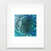 fractal Framed Art Prints featuring Fractal by nicky2342