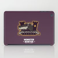 monster hunter iPad Cases featuring Monster Hunter All Stars - Schrade Legends by Bleached ink
