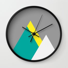 Mountain Trio Wall Clock