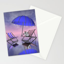 umbrella time -02- Stationery Cards