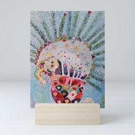 Xmas Guinea Pig Mini Art Print