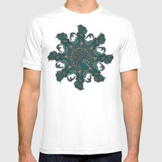 Around doodle Mens Fitted Tee White MEDIUM