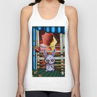 radio Tank Tops featuring Radio by Thom Whalen