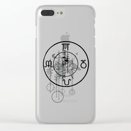Nature O'clock Clear iPhone Case