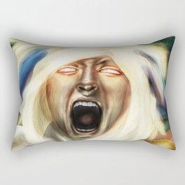Powergirl v1 Rectangular Pillow