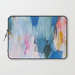 Abstract Neon Painting Laptop Sleeve