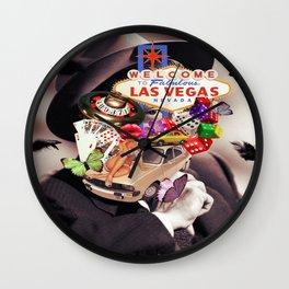 Las Vegas Maniac Wall Clock
