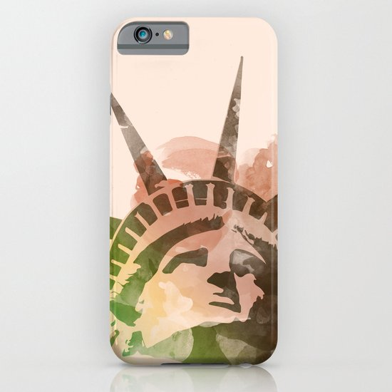 Miss Liberty iPhone & iPod Case