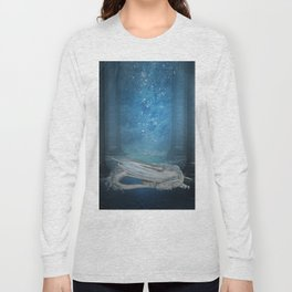 Awesome sleeping ice dragon Long Sleeve T-shirt