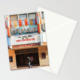 Orpheum Theater Los Angeles Stationery Cards