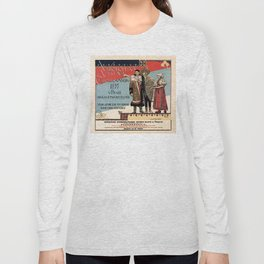 Czechoslav ethnographic exposition vintage ad Long Sleeve T-shirt