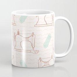 Retro Vintage sewing machine  Hand crafts Coffee Mug