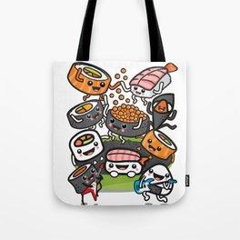 Sushi Rock Tote Bag