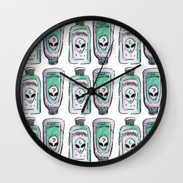 alien shampoo Wall Clock