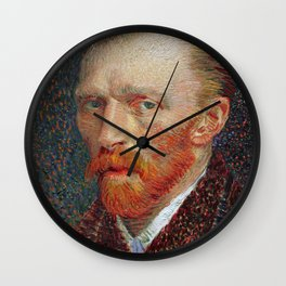 Van Gogh 1887 Wall Clock