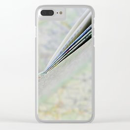 Let's go somewhere Clear iPhone Case