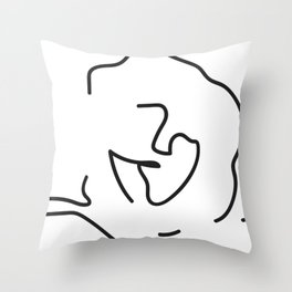 Cleo | Abstract Throw Pillow