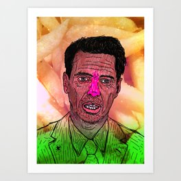 """The one and only Steven Vincent """"Steve"""" Buscemi  Art Print"""