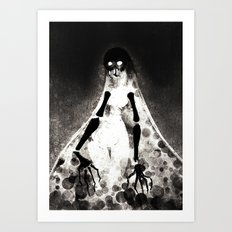Geisterfrau Art Print