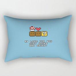 Love Grows Rectangular Pillow