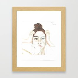 In Pieces. Framed Art Print