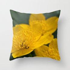 Meadow Buttercup Throw Pillow