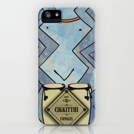Cikkitthi from < Q > (Congas) iPhone Case