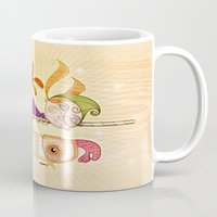 carousel Mugs featuring Carousel by José Luis Guerrero