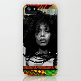 Earthy Badu iPhone Case