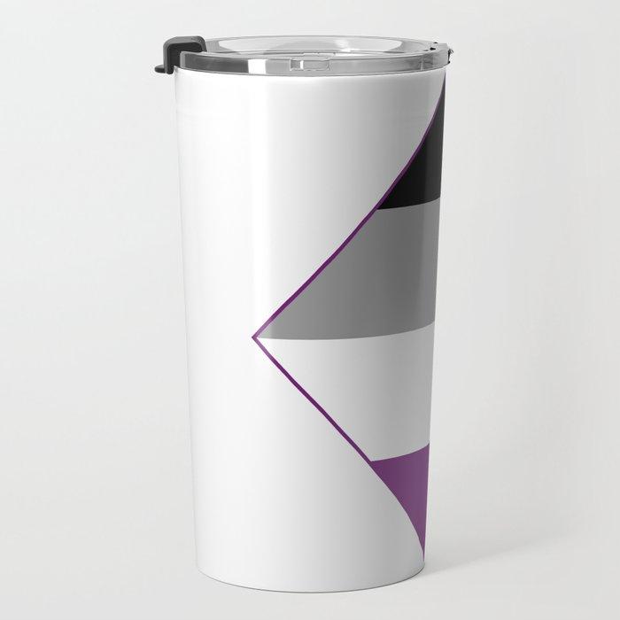 Asexual Diamond Travel Mug