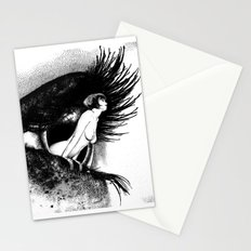 asc 602 - La spectatrice (Valentina at the gallery) Stationery Cards