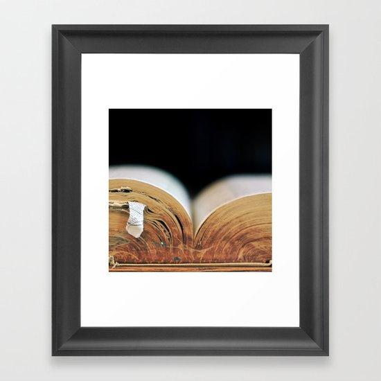 Tome Framed Art Print
