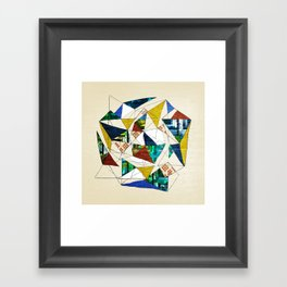 Geo Shapes no.1 Framed Art Print