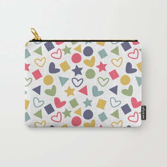 Colorful Lovely Pattern Carry-All Pouch