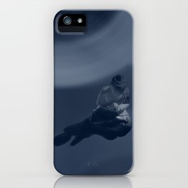 buddha monochrome iPhone Case