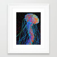 constellations Framed Art Prints featuring Constellations by RandyConnerPaintings