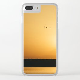 End of day Clear iPhone Case