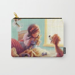 Snow White and the Seven Doggies Carry-All Pouch