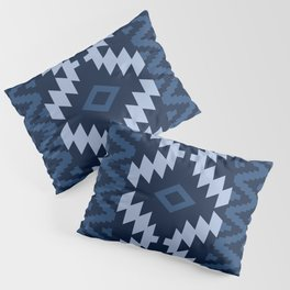 Ion in Navy  Pillow Sham