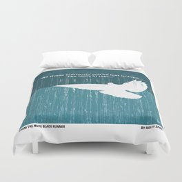 No011 My Blade Runner minimal movie poster Duvet Cover