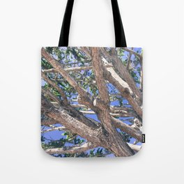 Trees and branches Tote Bag