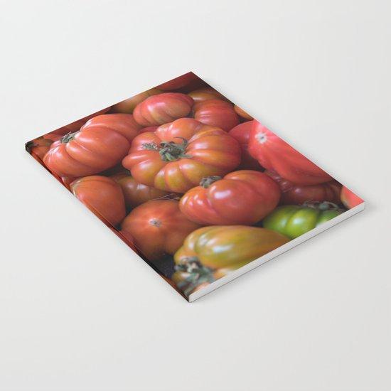 Tomato Pattern Notebook