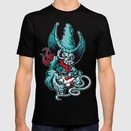 Gamer Skull - Puerto Rico console gamer hat skull T-shirt