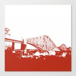 Forth [Ruby] Canvas Print