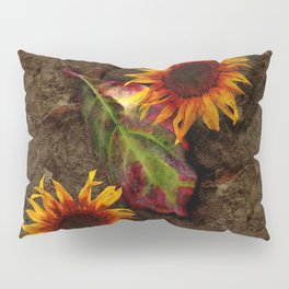 Sunflowers Vintage # Pillow Sham