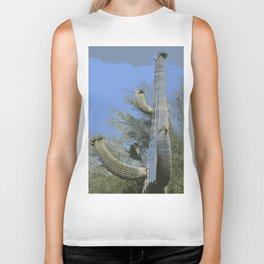 Saguaro Abstract Biker Tank