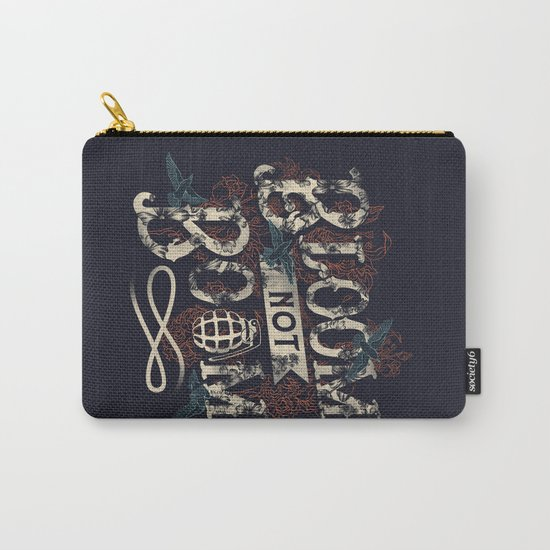 Bloom not Boom Carry-All Pouch