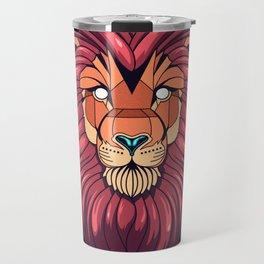 The eyes of a Lion Travel Mug
